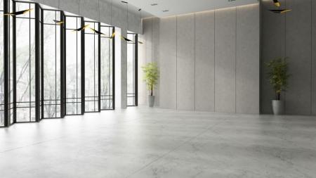 Висота стель в торгових залах може перевищувати 5 метрів