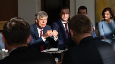 ПриватБанк продемонстрував свої досягнення американським дипломатам