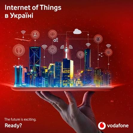Vodafone підготував мережу для Інтернета речей до комерційного запуску в Україні