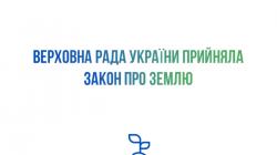 Верховна Рада України проголосувала за відкриття ринку землі