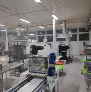 Продается кондитерское производство в Хмельницкой области, специализирующееся на изготовлении орешка кондитерского, выпечки печенья и корзинок