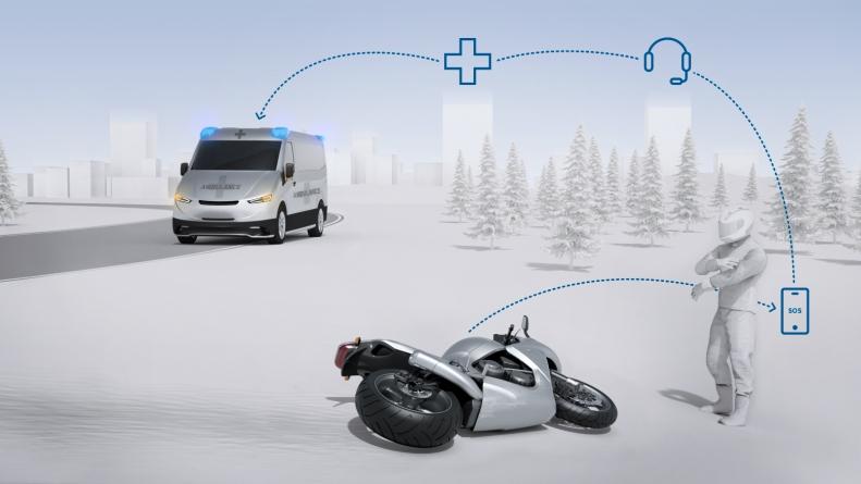 Невідкладна допомога: Bosch впроваджує функцію автоматичних екстрених викликів для мотоциклів