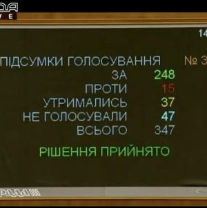 Рада поддержала в первом чтении законопроект о локализации