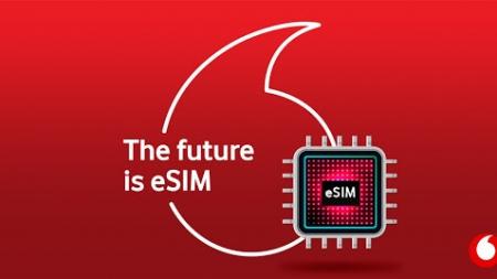 Vodafone розпочинає продаж еSim
