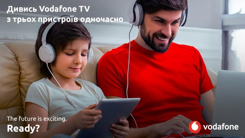Велике оновлення бібліотеки «Кіно+» на Vodafone TV