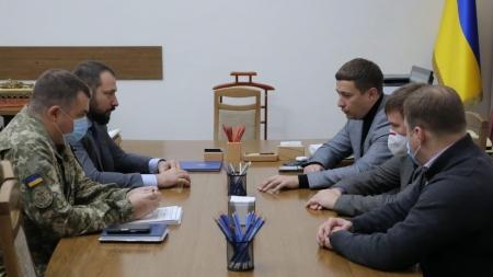 Держгеокадастр допоможе Міністерству оборони України у проведенні інвентаризації земель оборони