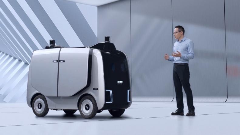 Alibaba начнет поставки автономными роботами